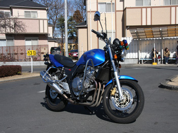 東松山自動車学校バイク