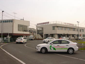 上北沢自動車学校教習風景