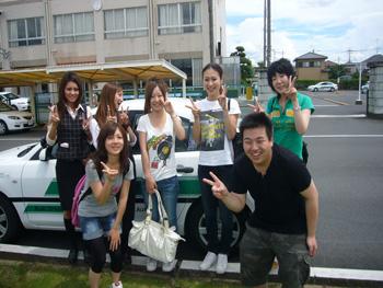 久喜自動車学校教習生