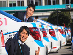 稲毛自動車教習車