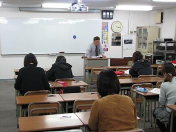 松戸東自動車学校学科教習風景