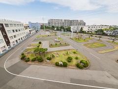 埼玉県自動車学校教習風景