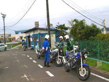 仙台北自動車学校バイク